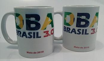 Canecas oficiais do DBA BRASIL 3.0