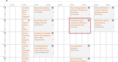 SQLBits 2020 – Vamos falar sobre AI no maior evento de dados da Europa?