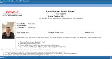 How to study for 1z0-931-21 – Oracle Autonomous Database Cloud 2021 Specialist