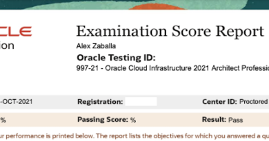 How to study for 1Z0-997-21 – Oracle Cloud Infrastructure 2021 Architect Professional
