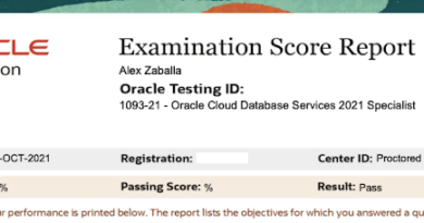 How to study for 1Z0-1093-21 – Oracle Cloud Database Services 2021 Specialist